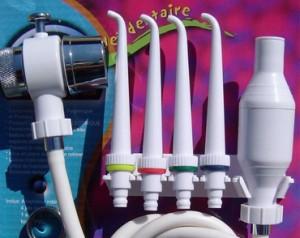 Jet dentaire Viveau non electrique pour robinet